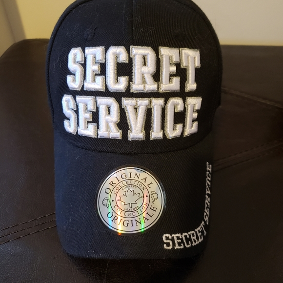 premium quality country leather Other - SOLD! NWOT! Unisex Secret service baseball cap
